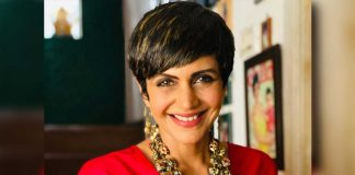 Mandira Bedi's headstand theory to keep 'anxiety at bay'