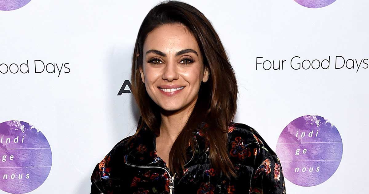 Mila Kunis' Little Black Dress Look With A Pregnant Belly Is Chic, Serving As A Fashion Inspiration To All The Pregger Mums