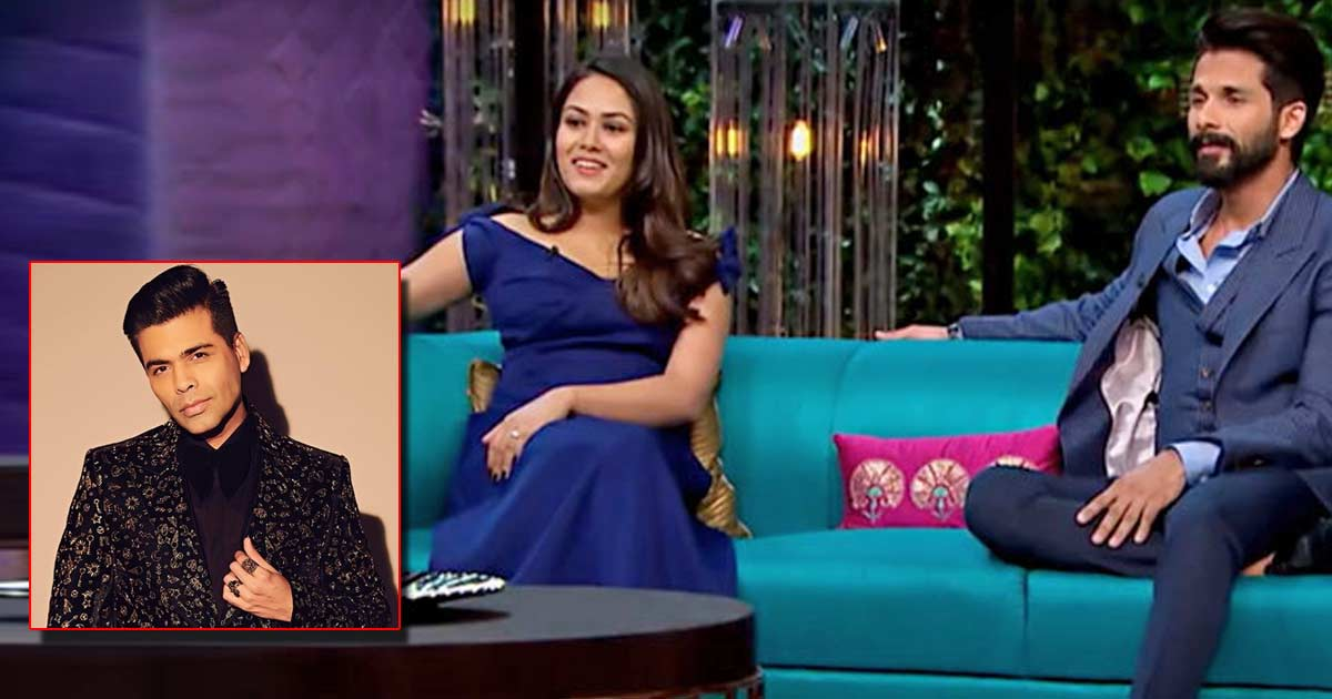 Mira Rajput Once Said She Doesn't Like Nepotism In Bollywood To Karan Johar & Here's How He Reacted - Check Out