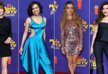 MTV Movie & TV Awards 2021 Red Carpet Was Impressive & Elizabeth Olsen, Kathryn Hahn, Jurnee Smollett, Nasim Pedrad Wowed Us