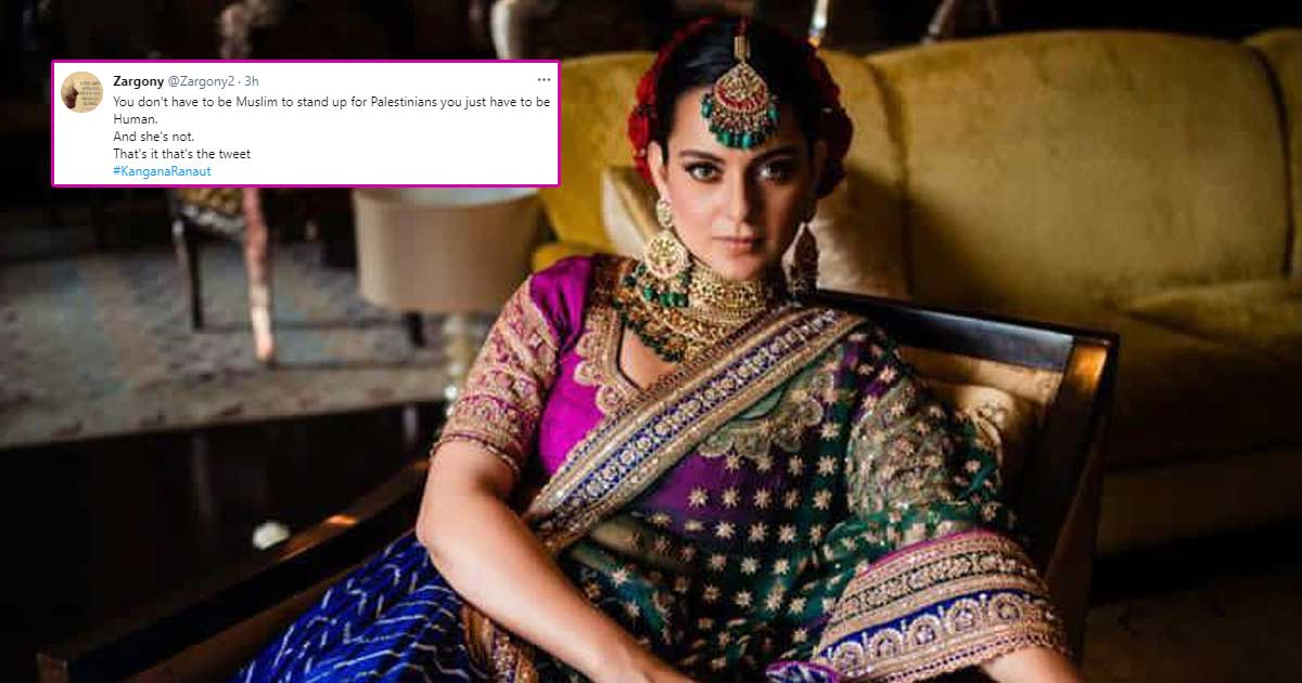 Netizen Bash Kangana Ranaut Following Her Comments On Plight In Israel, Ask Instagram To Take Her Account Down For Using Homophobic Slur