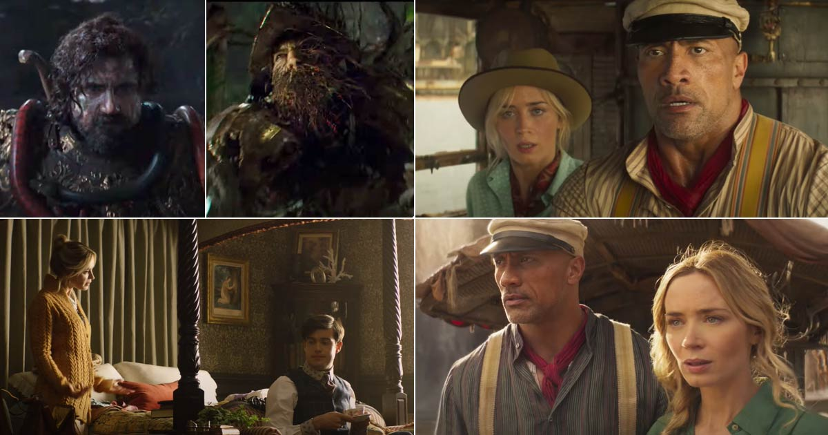"""NEW TRAILER RELEASED FOR DISNEY'S """"JUNGLE CRUISE"""" STARRING DWAYNE JOHNSON AND EMILY BLUNT"""