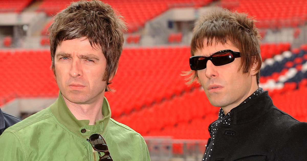 Noel Gallagher doesn't correct people when they think he is Liam