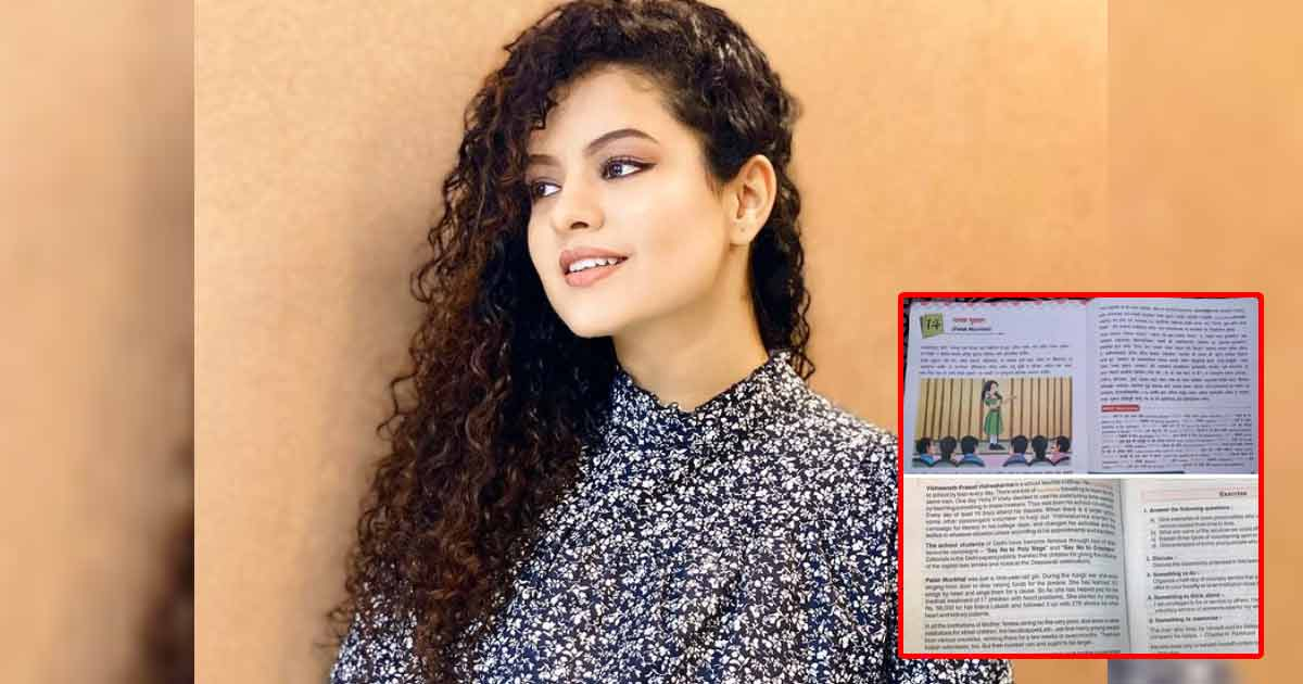 A Chapter Based On Palak Muchhal Has Been Introduced In Educational Textbooks