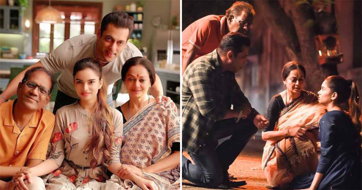 Entire Family Angle Ft. Salman Khan Was Removed From Radhe