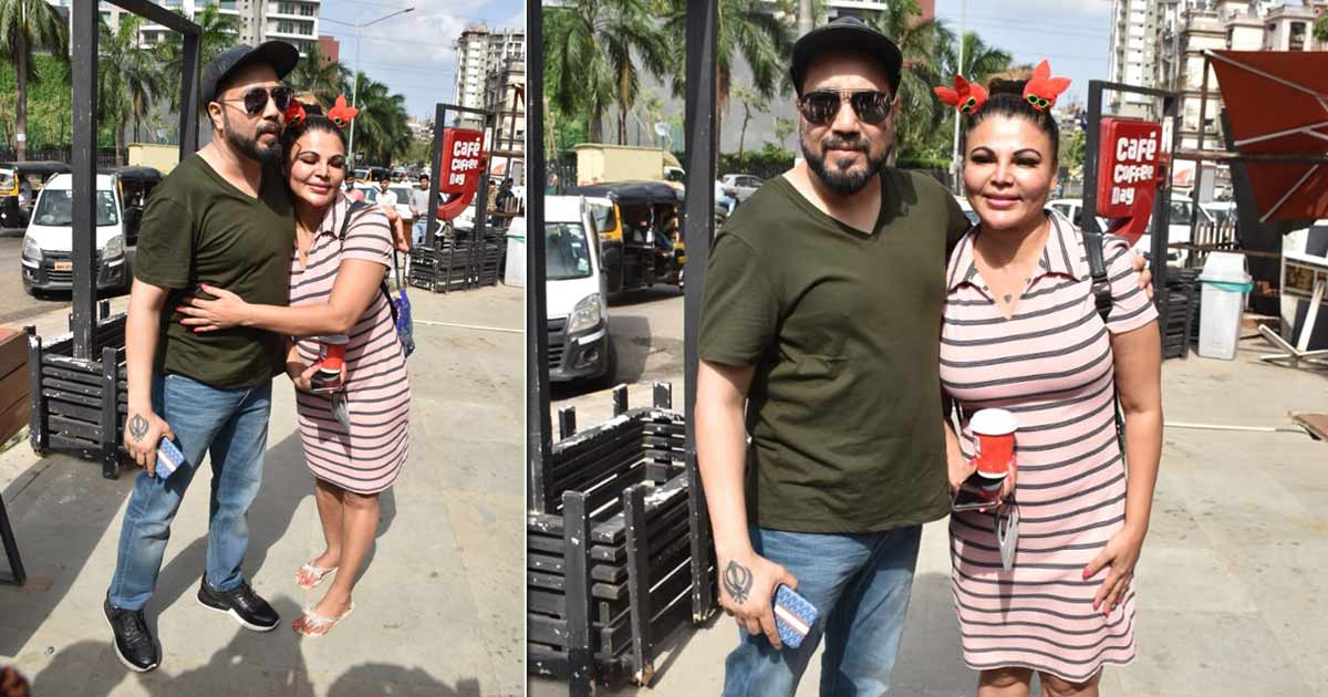 Rakhi Sawant & Mika Singh Hug It Out After The Kissing Controversy