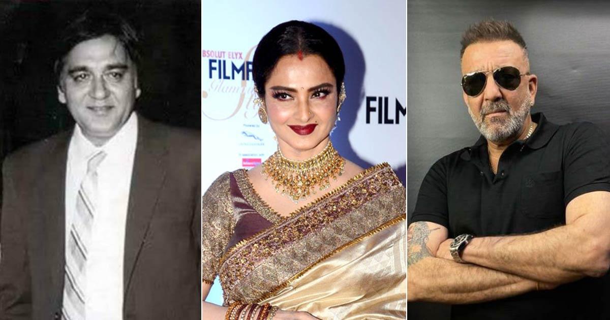 Rekha Was Once Warned By Sunil Dutt To Stay Away From Sanjay Dutt