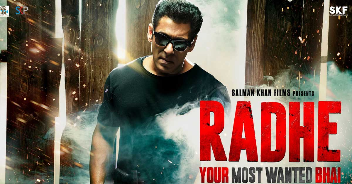 Revenue Generated From Salman Khan's Radhe To Be Used For COVID Relief