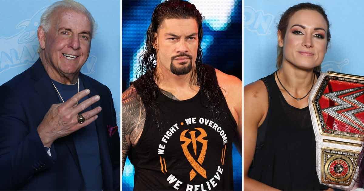 Ric Flair On Roman Reigns Over Becky Lynch Row