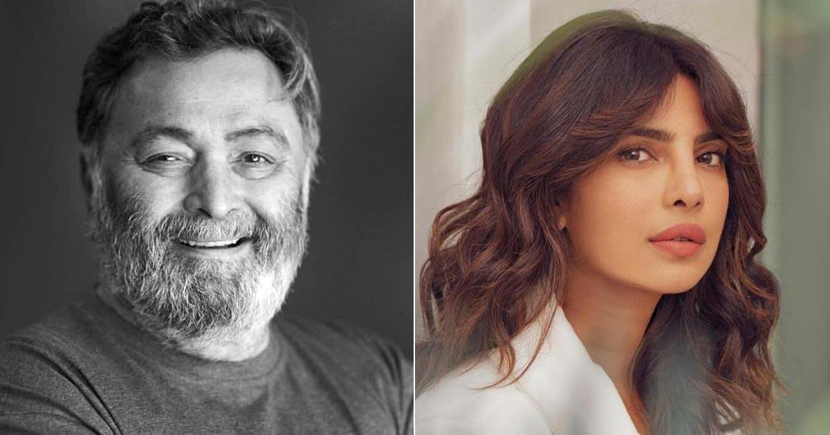 "When Rishi Kapoor Schooled Priyanka Chopra, ""You're Not A Brand, You're An Actor"""