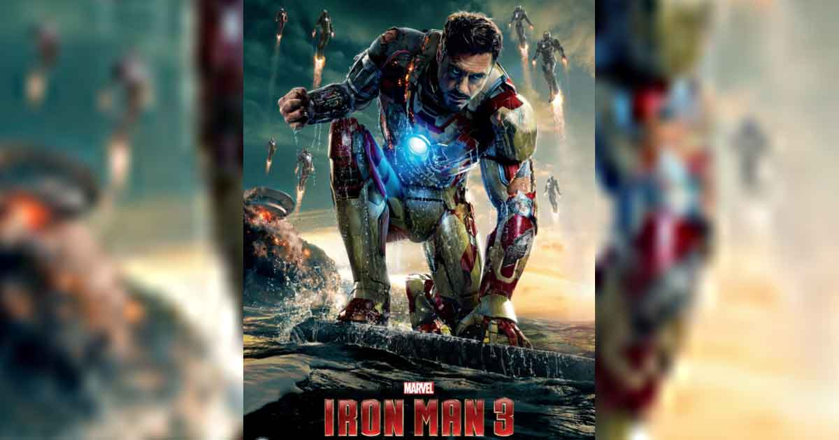 Iron Man 3 Poster Featuring Robert Downey Jr Accused Of Ripping Off Horizon's Work