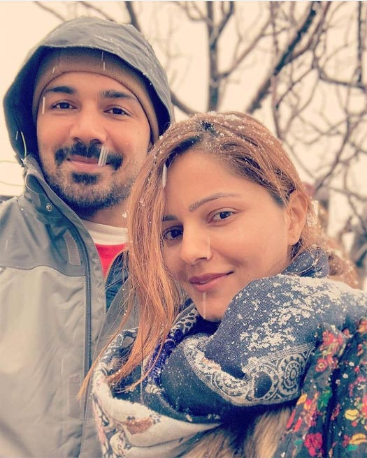 """Rubina Dilaik on being away from Abhinav,"""" Being ill makes you want that love, comfort and those warm hugs from your partner"""""""