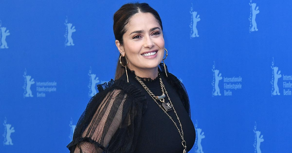 Salma Hayek Shares Her Near-Fatal Experience Of Struggling With COVID