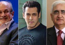 Salman Khan Gets Dragged In Salman Rushdie's Tweet After Getting Slammed Under Salman Khurshid's Tweet