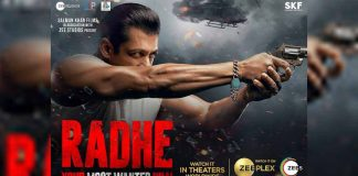 Salman Khan looks slick, exudes swag in title song poster of Radhe: Your Most Wanted Bhai