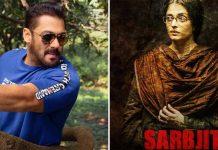 Salman Khan's Involvement In Aishwarya Rai Bachchan's Sarbjit Was Ignored For This Reason?