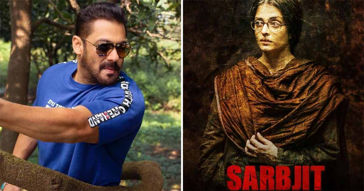 Sarbjit: Salman Khan's Efforts In Proving Sarabjit Singh's Innocence Were Exempted From The Film, Reports Suggest His Past Relationship With Aishwarya Rai Bachchan Was The Reason