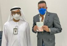 Sanjay Dutt: Honoured to have received a golden visa for the UAE