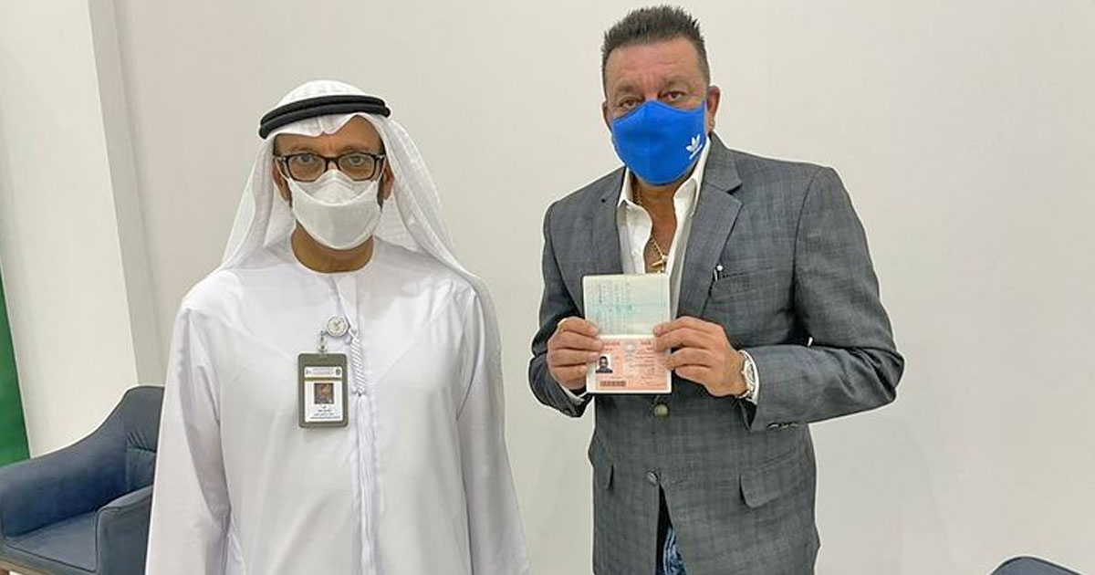 """Sanjay Dutt On Receiving UAE's Golden Visa: """"I Vow To Help The Country Whenever They Are In Need"""" - Read On"""