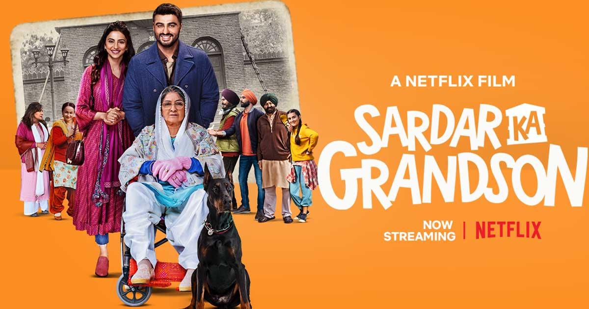 Sardar Ka Grandson Movie Review: 'Sardar' Neena Gupta & 'Grandson' Arjun Kapoor Are Good, But That's About It!