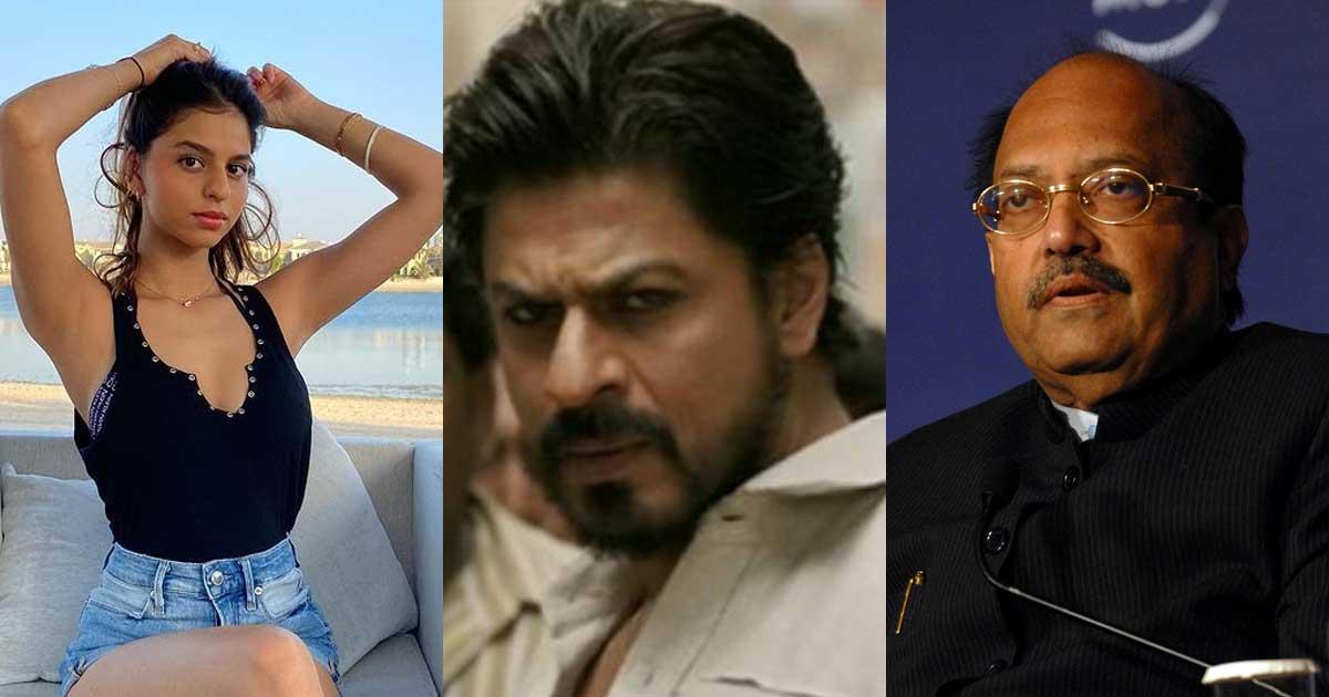 Shah Rukh Khan's 'Promise Of A Pathan' Against Amar Singh!
