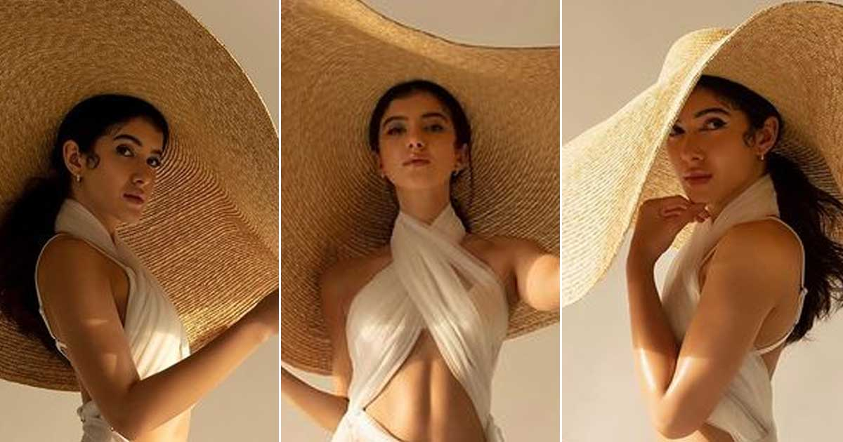 Shanaya Kapoor Turns Into A Sensual Mannequin Displaying Nothing But Hotness In Her Latest Photoshoot - See Pics