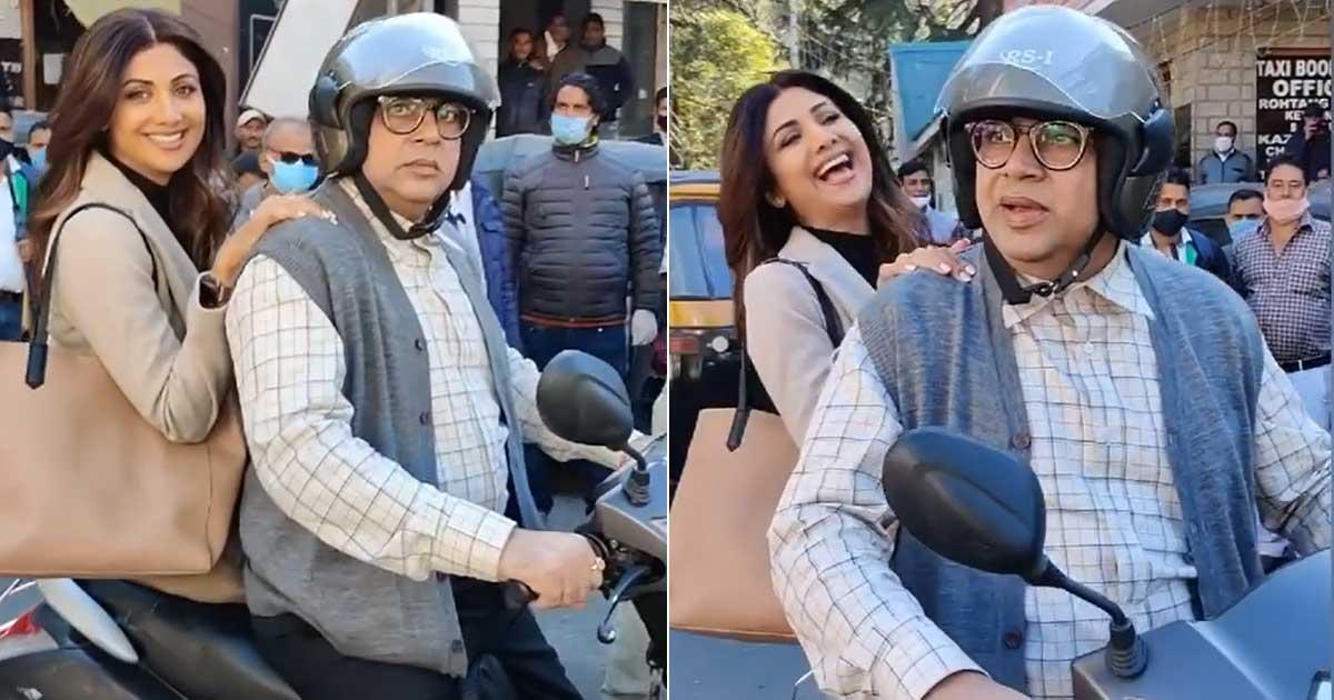 Shilpa Shetty shares funny 'Hungama 2' video on Paresh Rawal's birthday