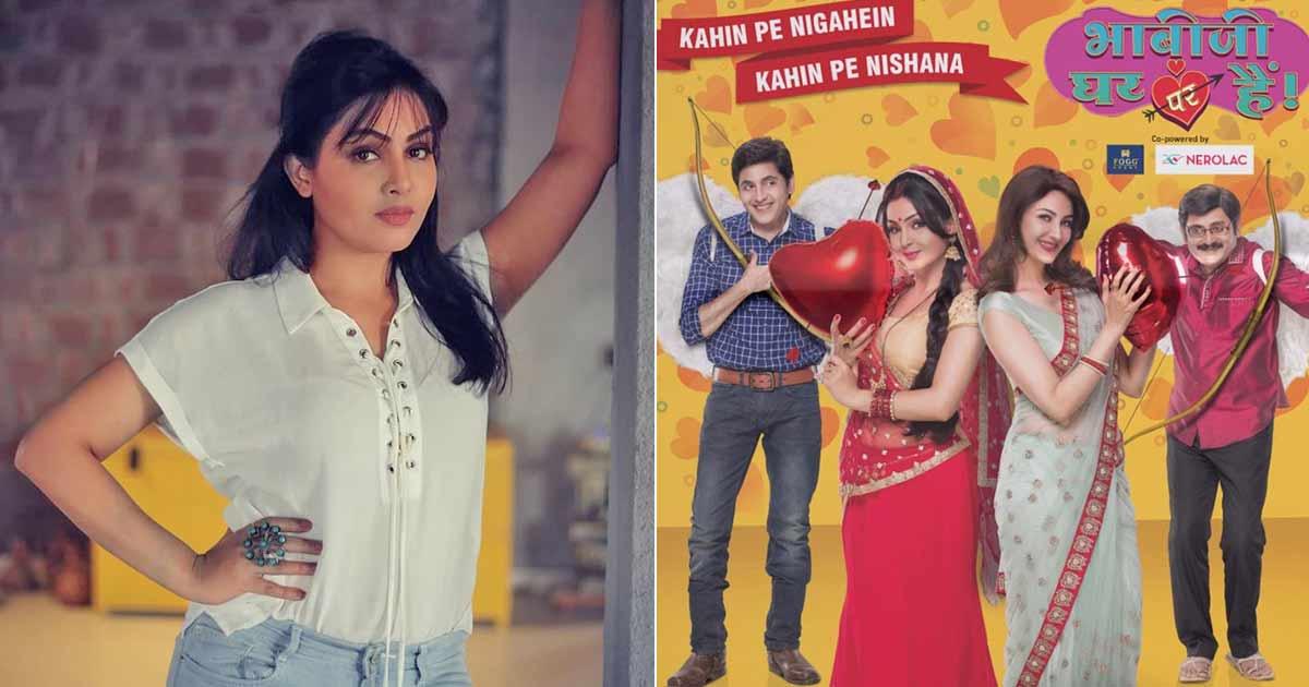 Shubhangi Atre Is Back On Bhabiji Ghar Par Hain Sets...In Gujarat