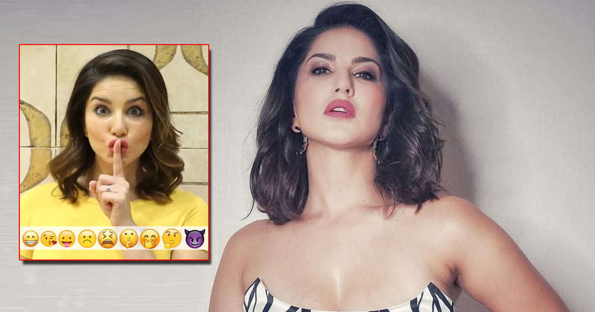 Sunny Leone Acts Out Her Favourite Emojis
