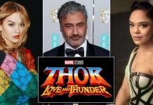 Taika Waititi Reprimanded By Marvel Heads For Pictures With Tessa Thompson & Rita Ora?