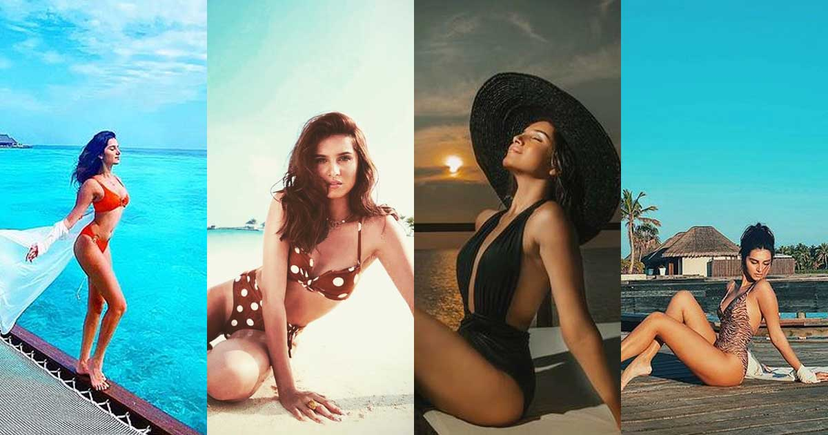 From Polka Dots Bikini To Sultry Black Monokini