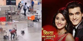Tauktae Cyclone Creates Havoc On Yeh Rishta Kya Kehlata Hai Sets, Karan Kundrra Shares Video