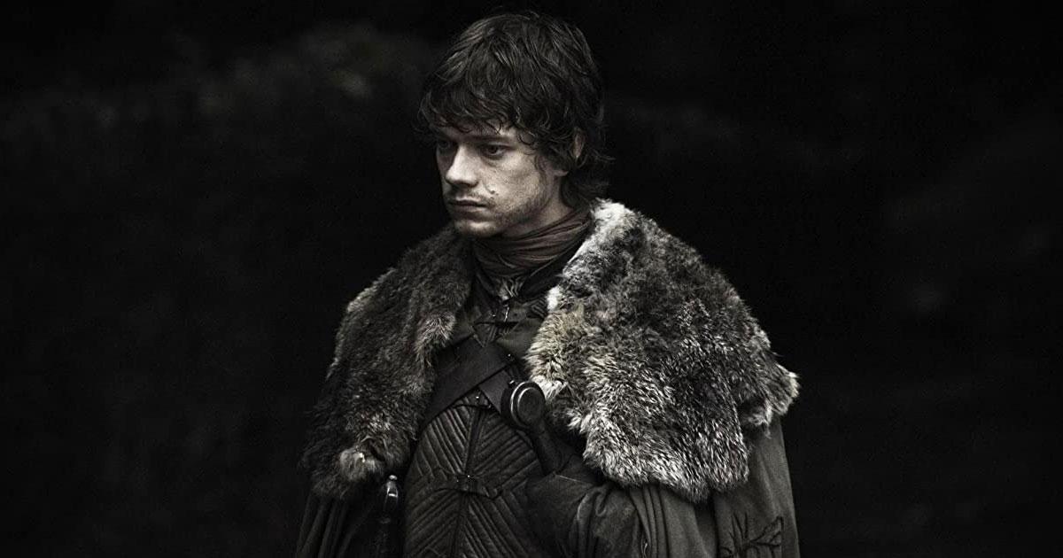 Theon Greyjoy In A Still From GoT