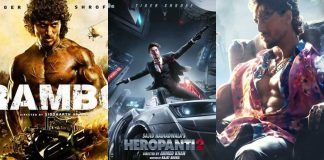 Tiger Shroff stays on to be Mr. Consistent 7 years after Heropanti, gears up for Heropanti 2, Rambo and Ganapath: Chapter One