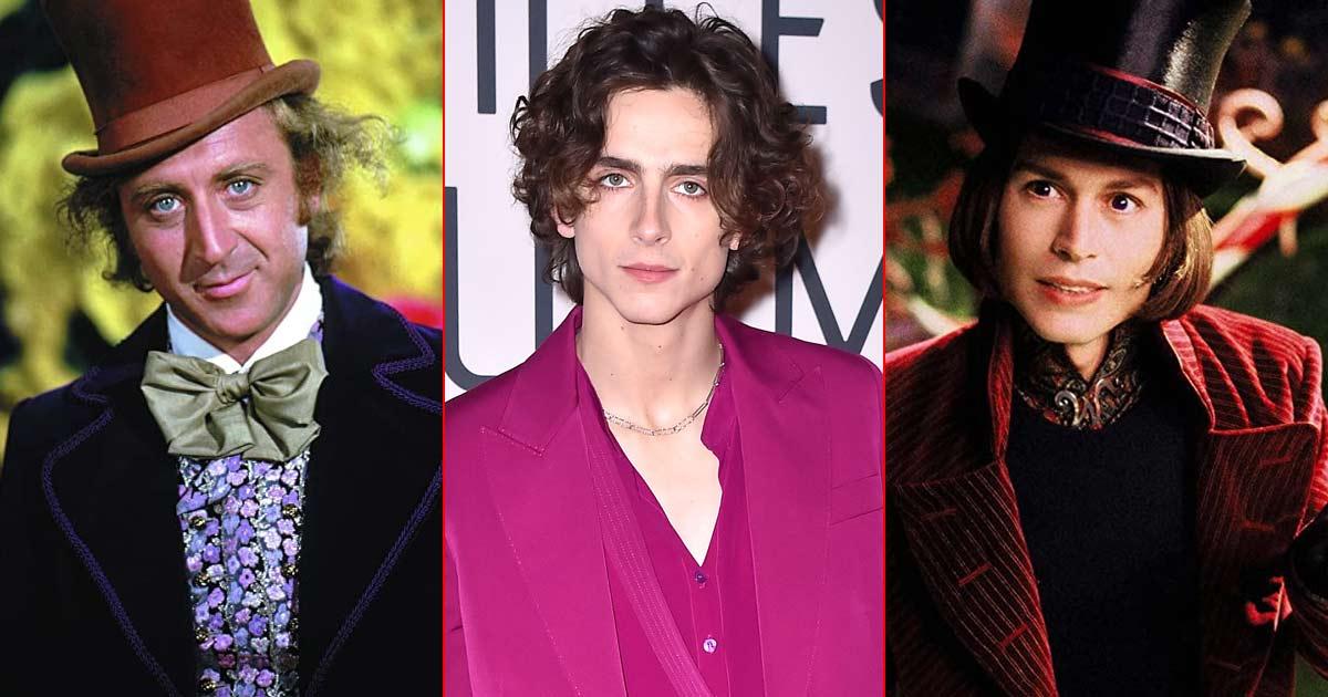 Timothée Chalamet To Play Willy Wonka After Johnny Depp & Gene Wilder