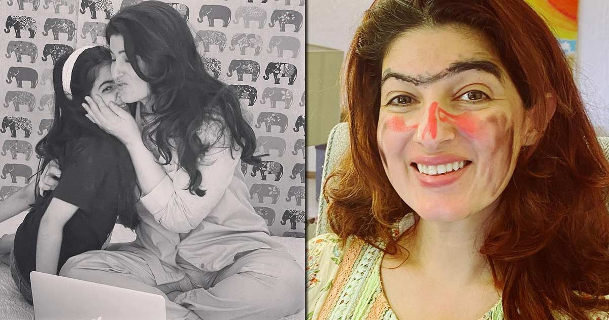 Twinkle Khanna Gets A 'Punishment' Makeover From Her Daughter & We Bet You'll LOL