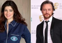 Twinkle praises James McAvoy for his plea to donate for Covid resources in India