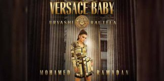 Urvashi Rautela tried adding Bollywood elements to her international album 'Versace Baby'