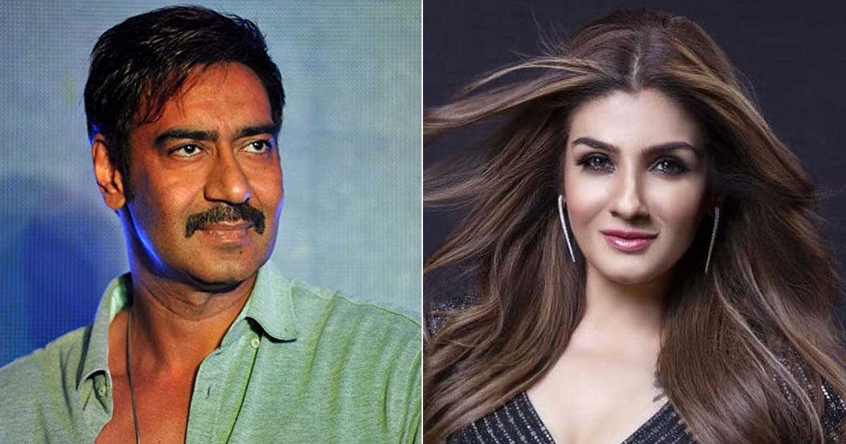 When Ajay Devgn Labelled Raveena Tandon's Suicide Attempt As A 'Publicity Gimmick' After Linking Her Name With Him - Deets Inside