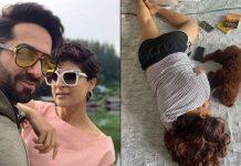 When Ayushmann caught wife Tahira napping