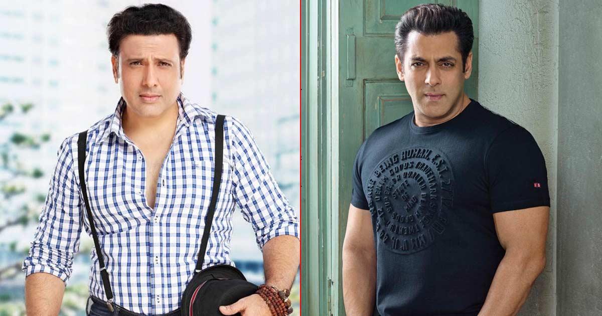 When Govinda Turned Down Salman Khan's 'Art' Film Because He Didn't Like The Story