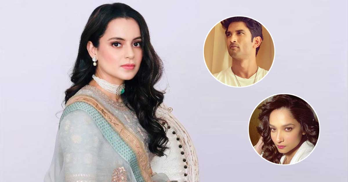 When Kangana Ranaut Revealed Ankita Lokhande Telling Her About Sushant Singh Rajput Not Being 'Thick-Skinned' - Check Out