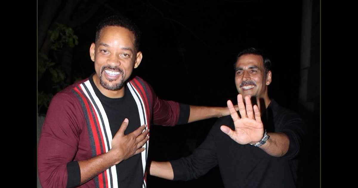 "Will Smith Once Said, ""I Should Just Move In With Akshay Kumar,"" On Not Being Able To Meet Him During His India Visit"