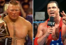 WWE: Kurt Angle On Brock Lesnar