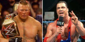 WWE: Kurt Angle On Brock Lesnar