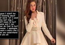Yuvika Chaudhary apologises for casteist remark in video