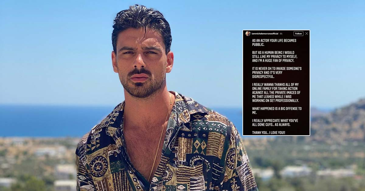 """365 Days Actor Michele Morrone Lashes Out On The Internet After His Frontal N*de Pictures Gets Leaked; Writes, """"It's Never Ok To Invade Someone's Privacy"""" - Check Out"""