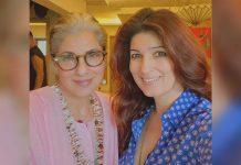 'A certain someone' photobombs Twinkle Khanna's selfie with mom Dimple Kapadia