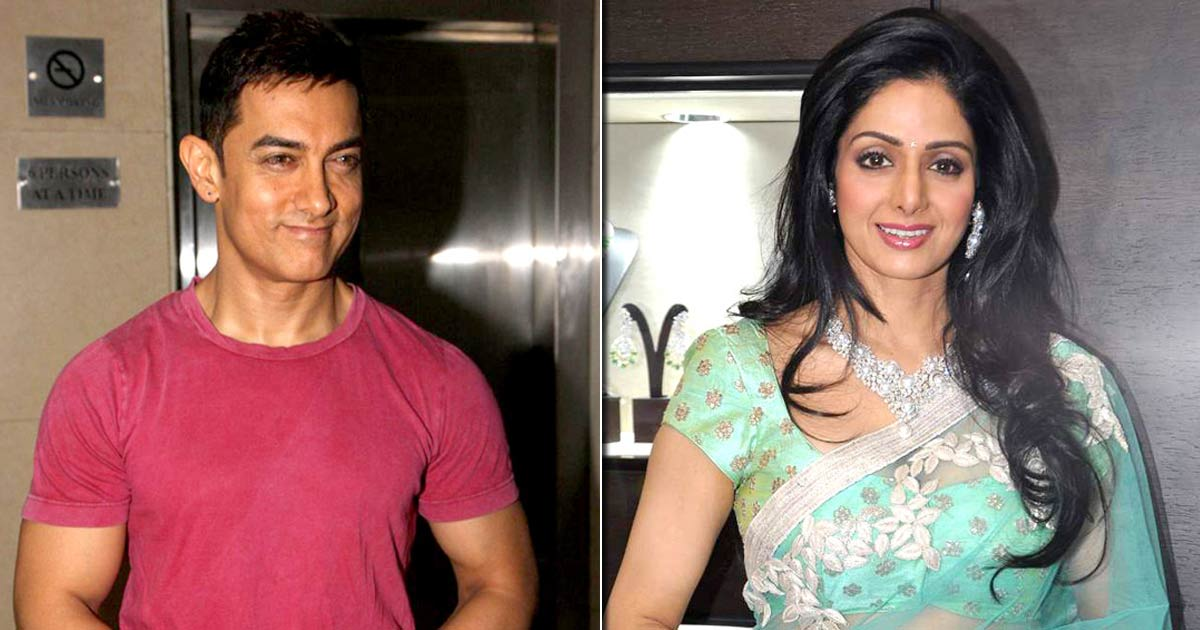 Aamir Khan's Innocent Love For Sridevi Was So Evident That It Took Just Two Seconds For The Evergreen Actress To Know That