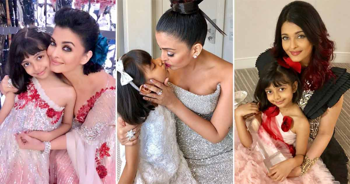 Aishwarya Rai Bachchan & Aaradhya's These 10 Looks Strengthen The Fashion Game Of This Super-Cute Mother-Daughter Duo